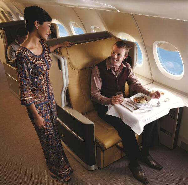 Singapore Airlines Premium Cabin