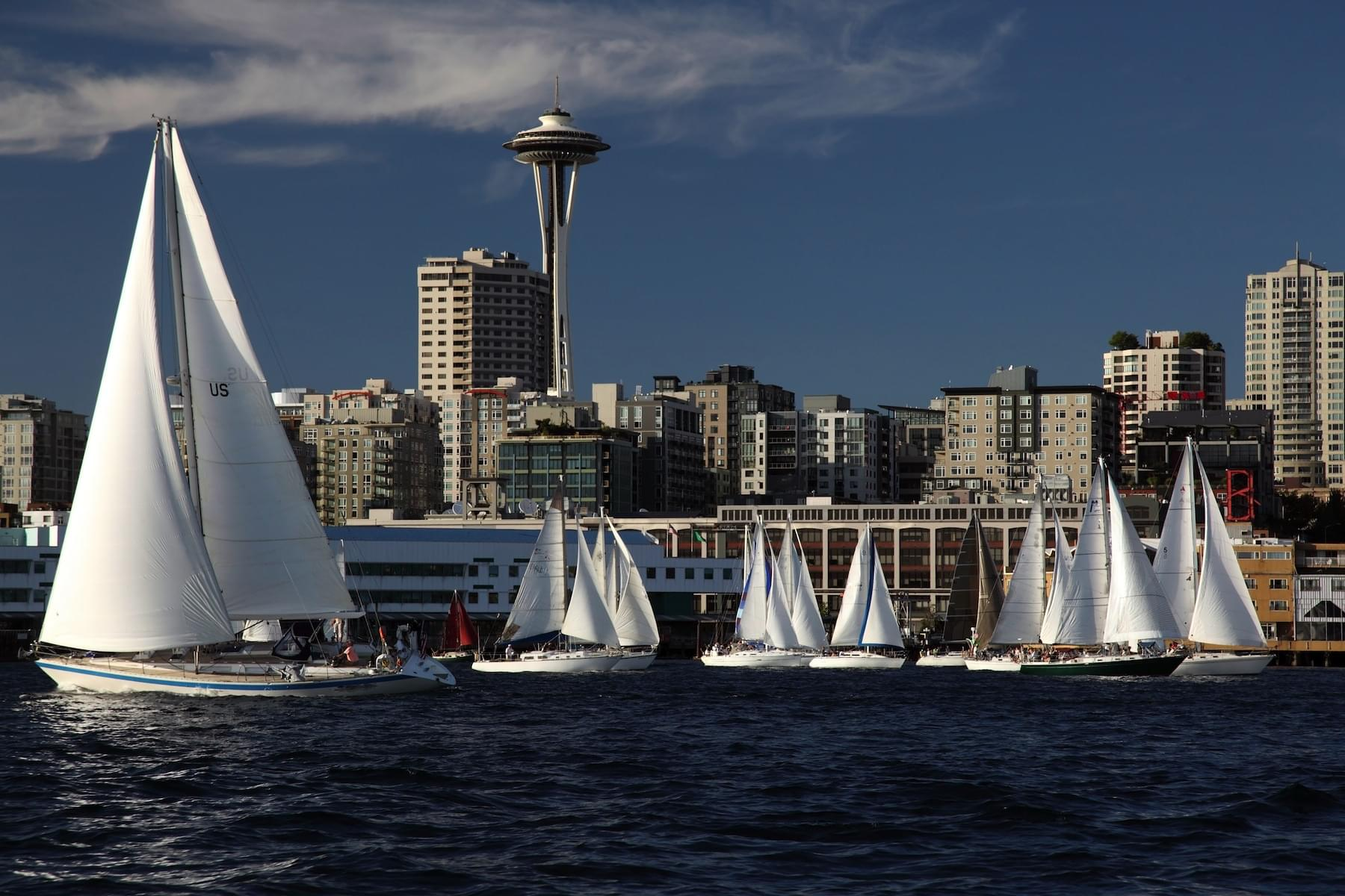 Summer sail in Seattle