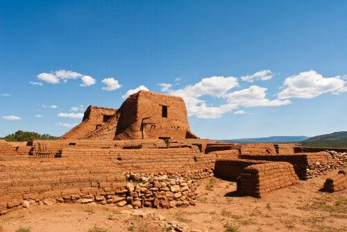 Pecos National Historic Park near Santa Fe, New Mexico, USA