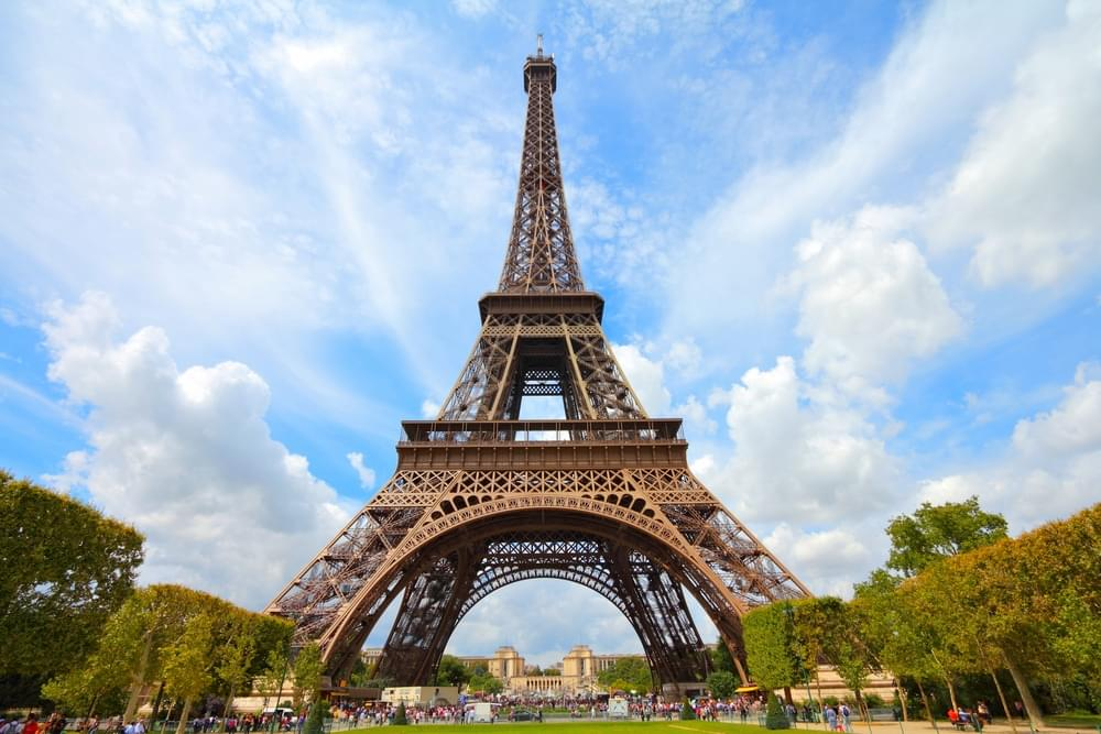 Paris is one stop on the round-the-world itinerary