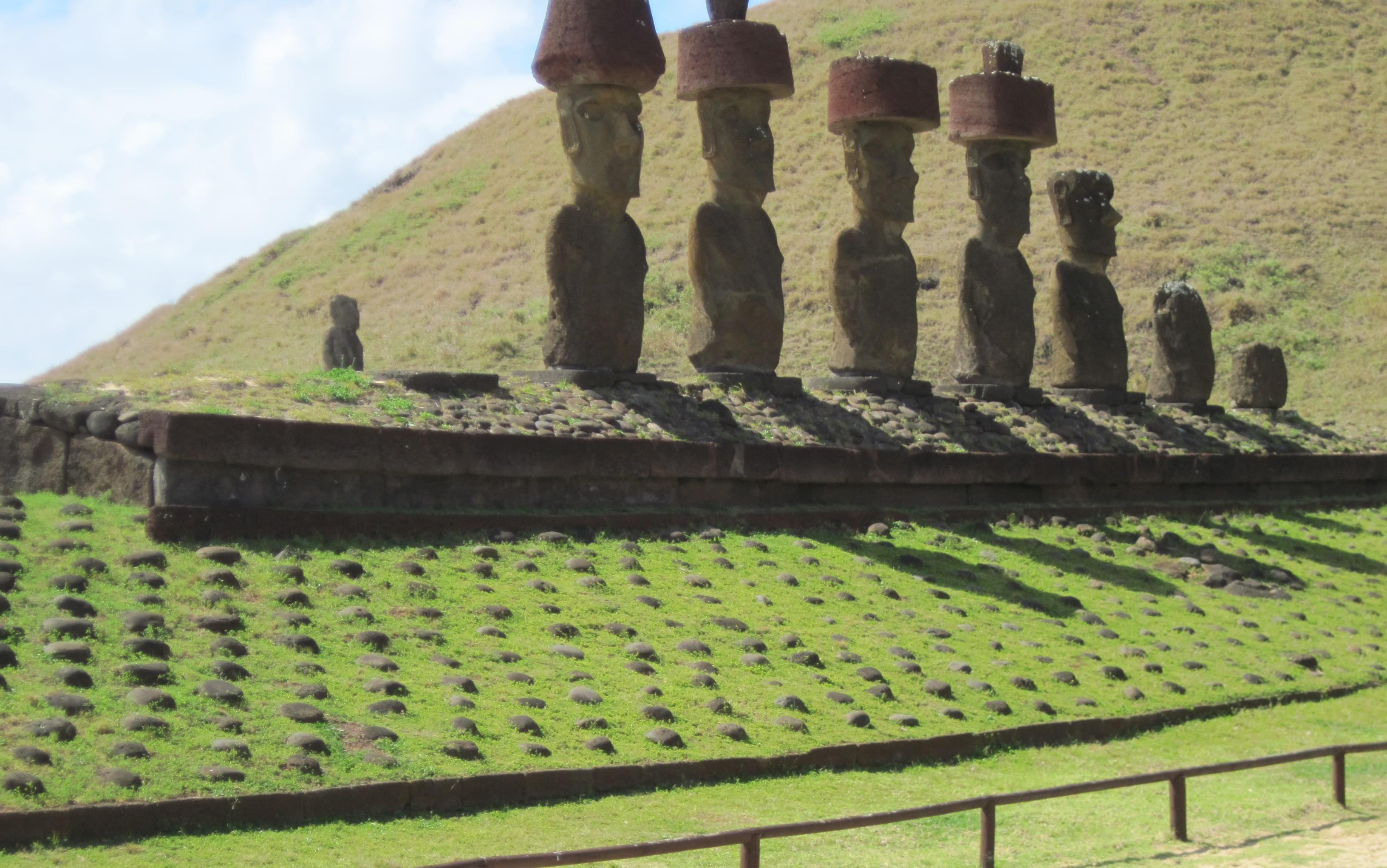 Easter Island Moai - Giant Heads