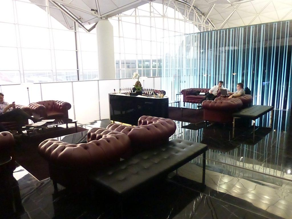 HKG Wings First Class Lounge