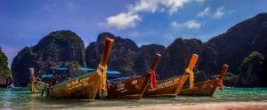 Thailand to New York via Hong Kong