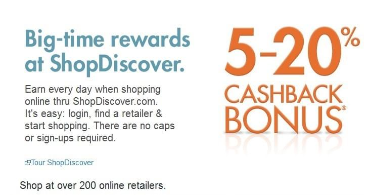 Get cash back rewards with Discover It