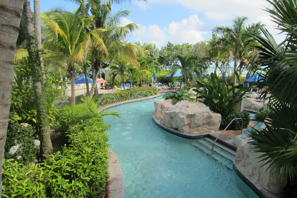 Lazy river at the Hilton Rose Hall Resort
