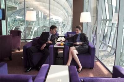 Royal Orchid Lounge of Thai Airways