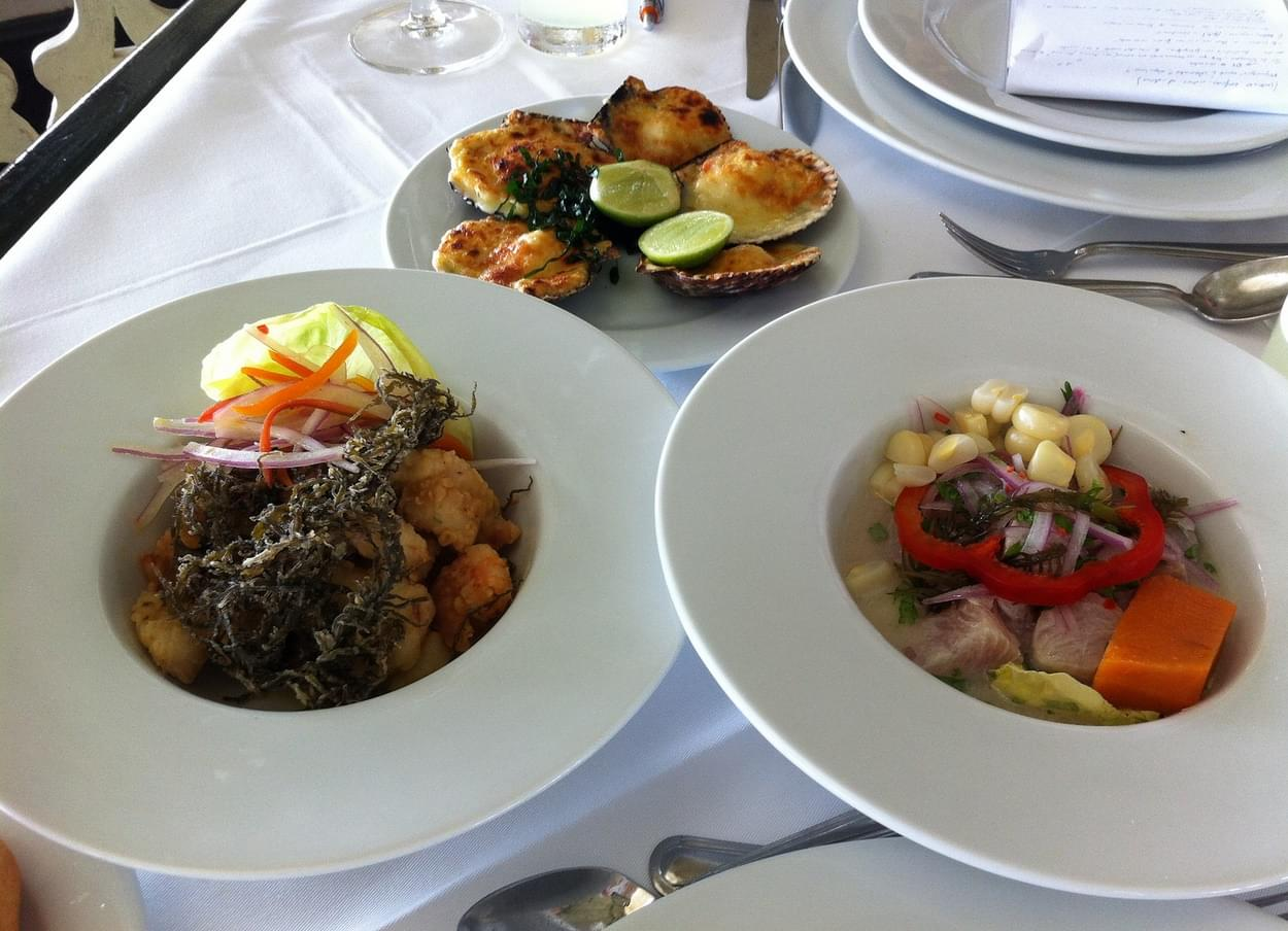 Restaurant La Rosa Náutica, Lima