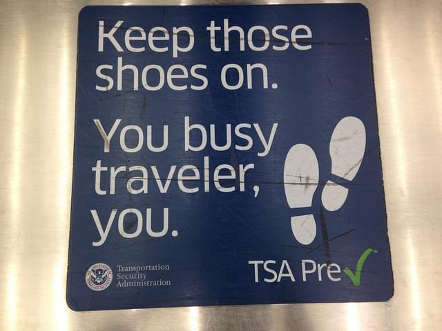 TSA PreCheck allows you to bypass the security line