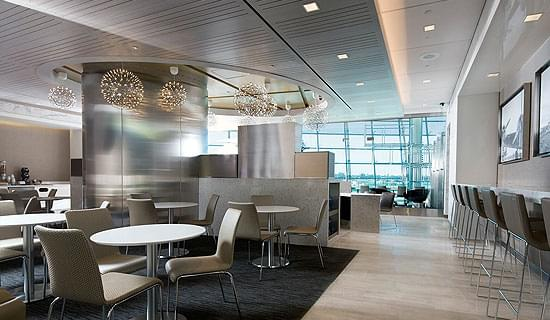 United Club, accessed with Priority Pass