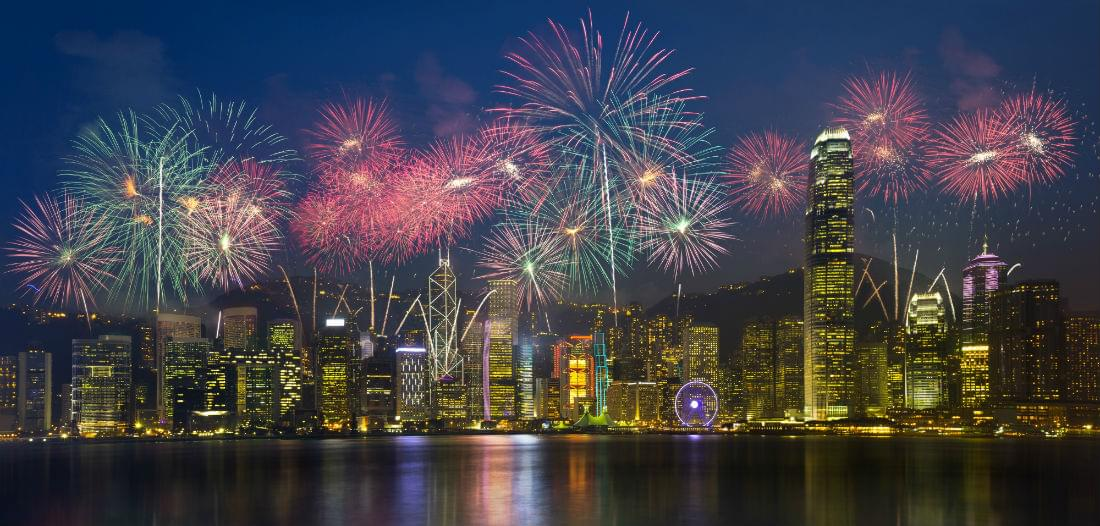 Book New Year's in Hong Kong Now
