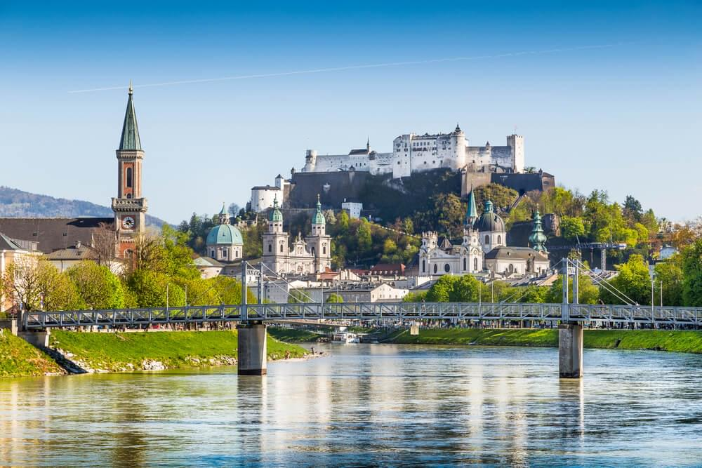 The Salzburg skyline