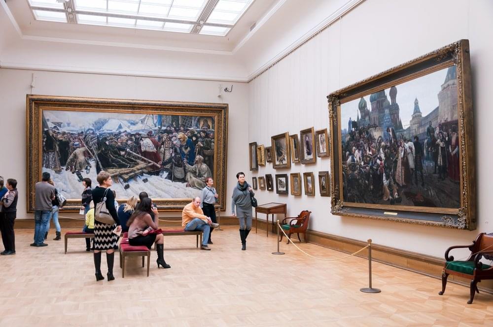 Moscow, Tretyakov Gallery interior