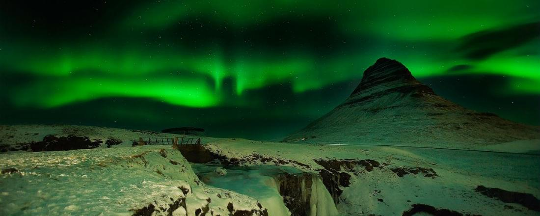 Seeking the Northern Lights in Iceland