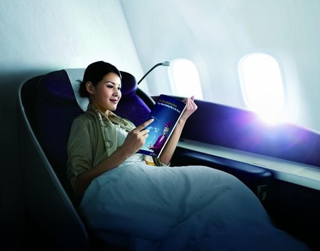 China Southern First Class Skybed