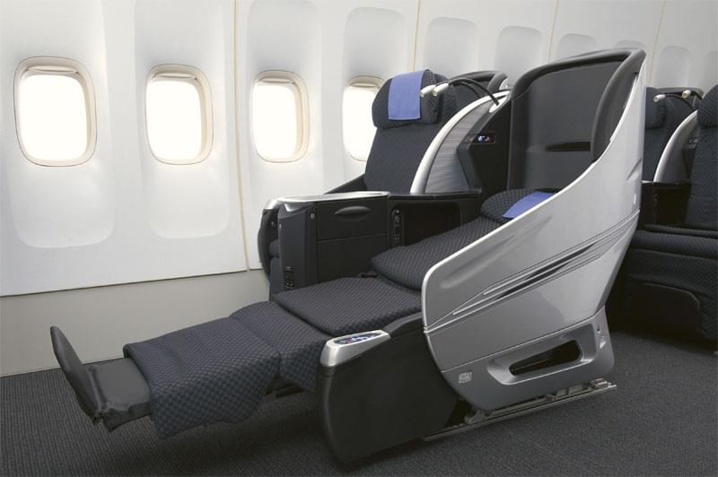 Japan Airlines Shell Flat Neo Business Seats