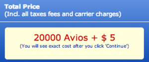 Booking with Avios