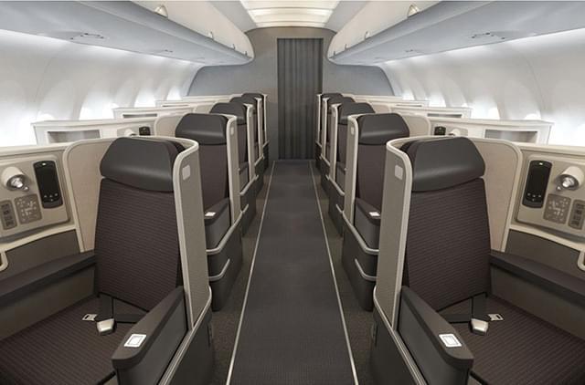 A321T first class cabin