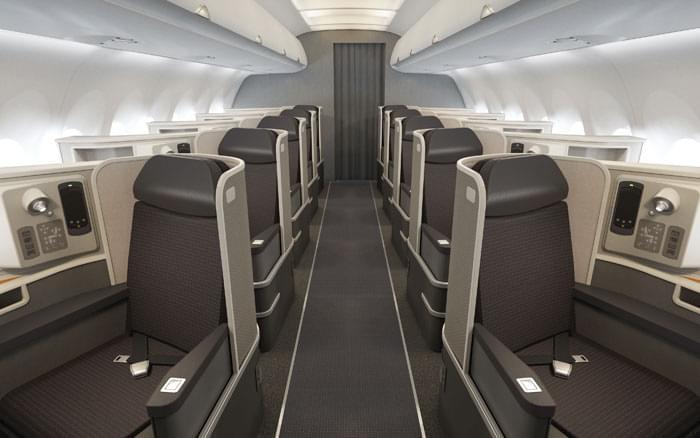 A321 Transcon First Class