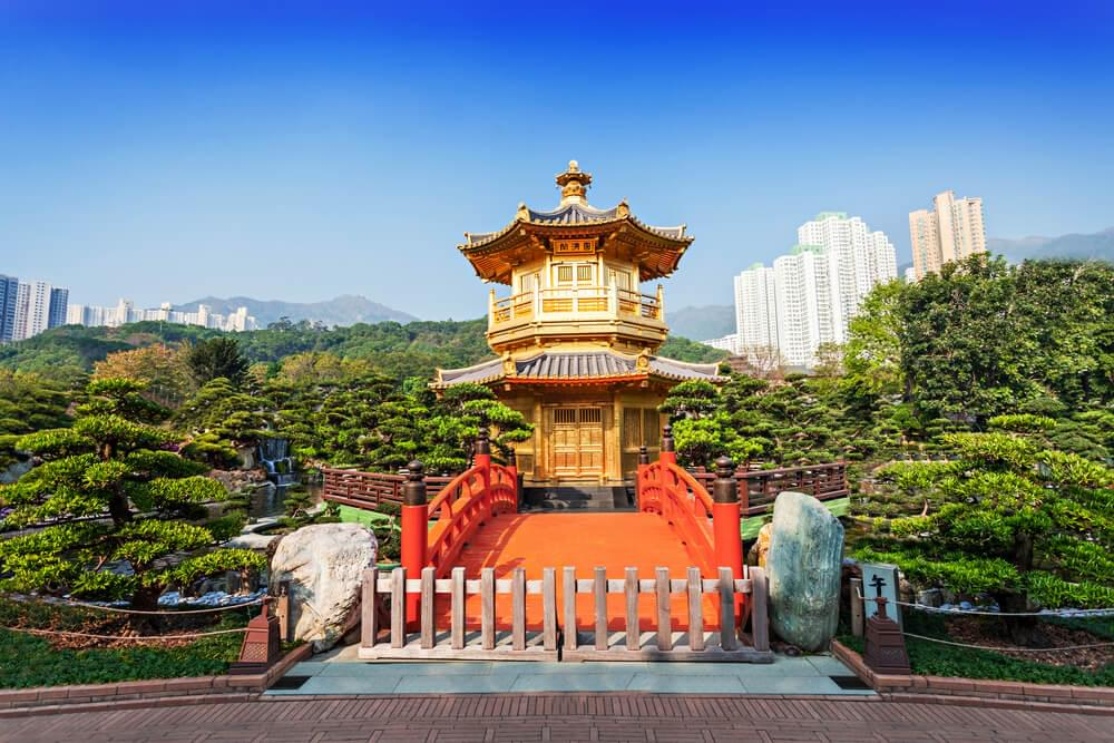 Pagoda at Nan Lian Garden, Hong Kong