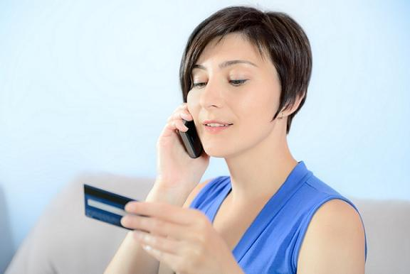 Tell a bank representative about your current credit cards