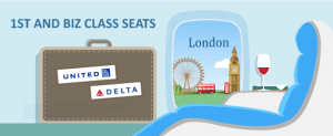 Business or First Class to London Using MileagePlus and SkyMiles