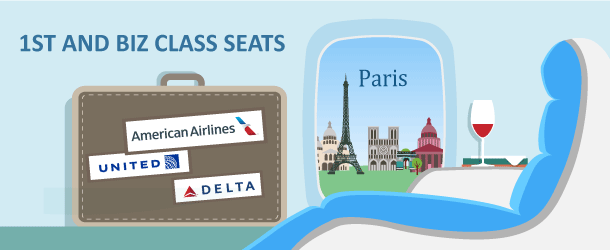 How to Fly in Business or First Class to Paris