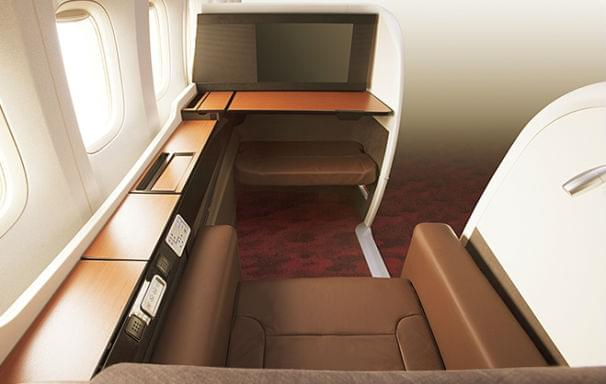 Jal first class seats