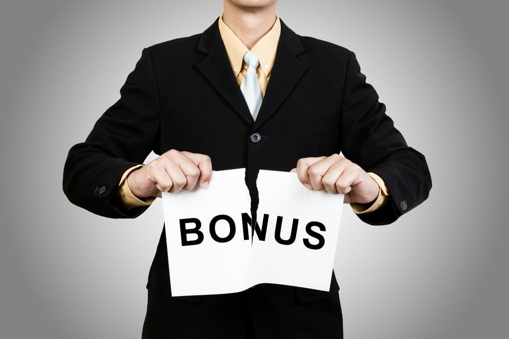 bonuses can be too expensive
