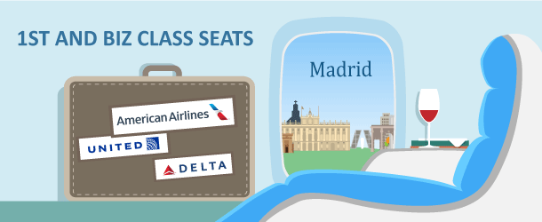 Premium Class Award Travel to Madrid