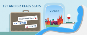 How to Fly to Vienna in Front of the Plane