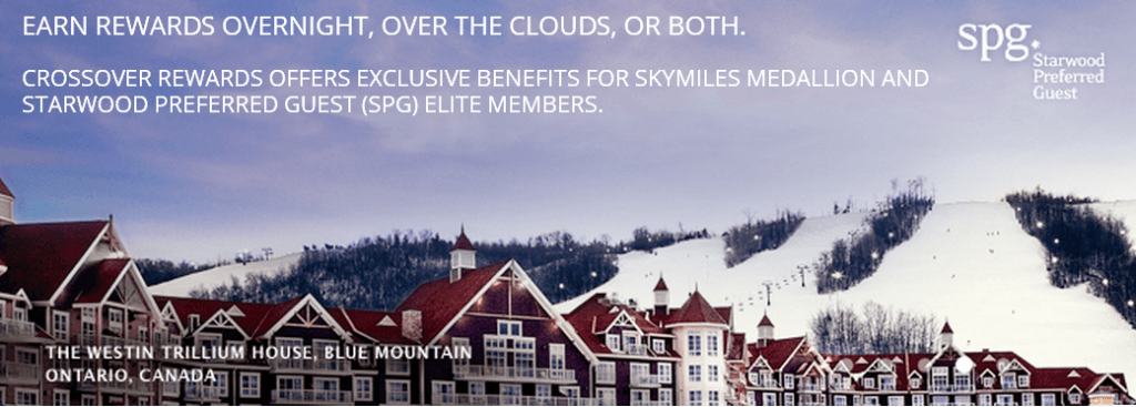 Crossover Rewards with SPG and Delta SkyMiles