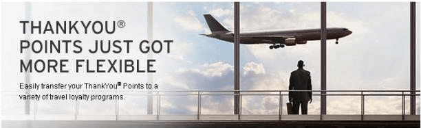 Transfer your points to travel loyalty programs