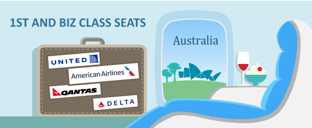 Premium Class Flights to Australia