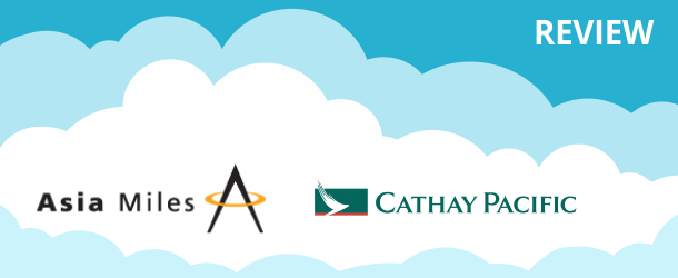 Cathay Pacific Asia Miles Program Review