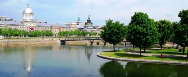 Bonsecours Park in Old Montreal