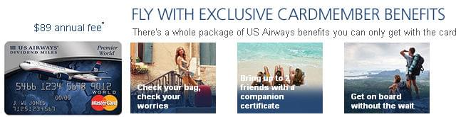 There's still time to get the US Airways card