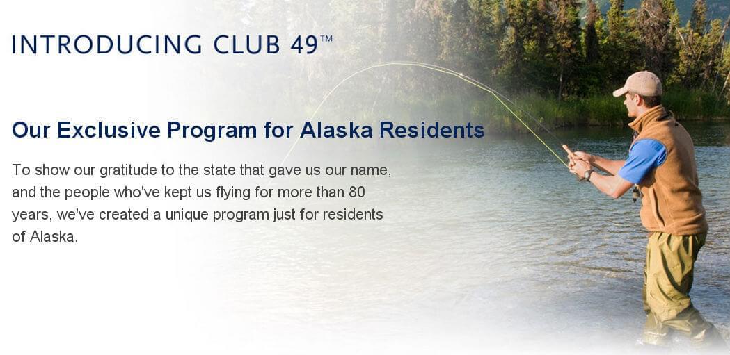 Alaska Airlines Club 49