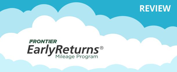 Frontier EarlyReturns Program Review