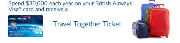 British Airways Travel Together Ticket