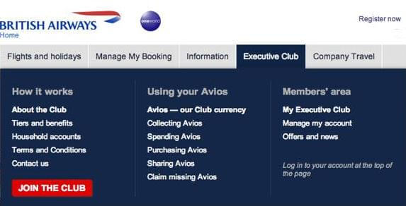 Using-British-Airways-Award-Tool