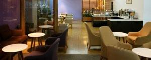 The Oasis at the Airport: American Express Centurion Lounge