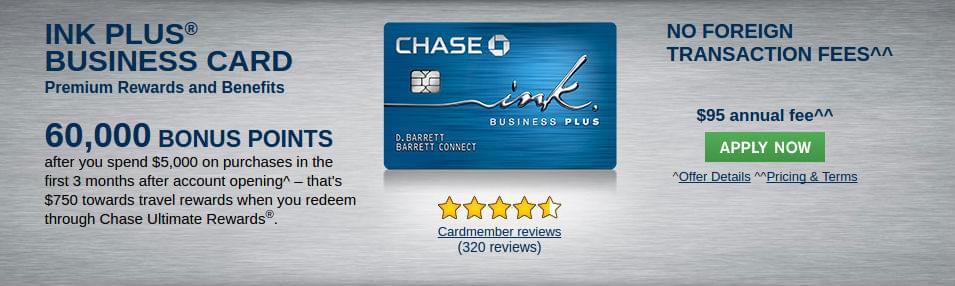 Chase ink plus credit card review ink plus business credit card colourmoves