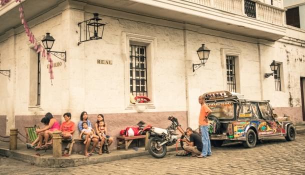 Manila city streets