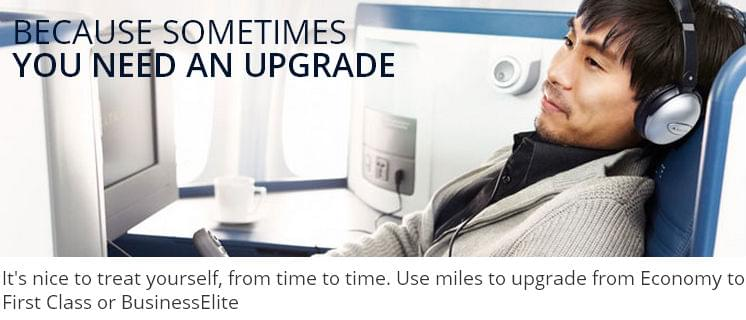 Delta mileage upgrades