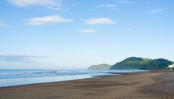 Early morning on Jaco beach, Costa Rica