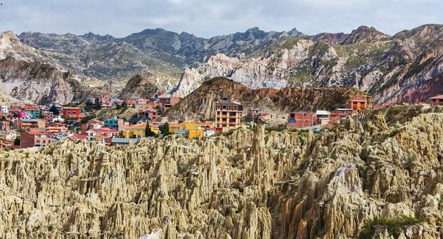 Valle de la Luna in La Paz,Bolivia