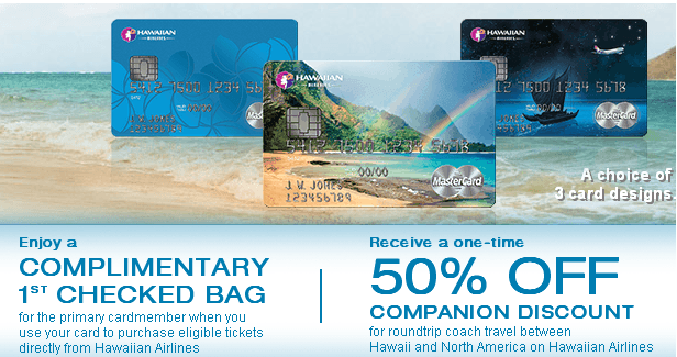 Hawaiian Airlines World Elite MasterCard usage perks