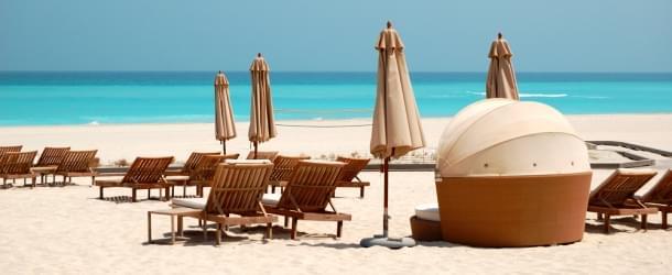 Abu Dhabi luxury beach