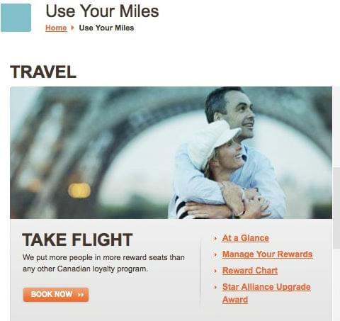Aeroplan-use-your-miles