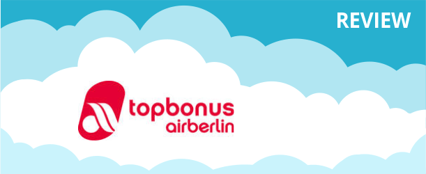 Airberlin Topbonus Program Review